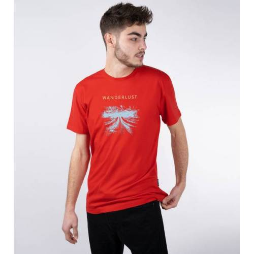 Gary Mash Shirt Wanderlust Aus Modal®-Mix rot L