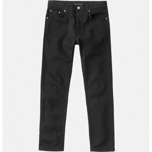 Nudie Jeans Steady Eddie Ii Dry Ever Black black 30/32