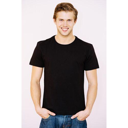 NIKOLAIKIKI Basic T-shirt Men jet black schwarz M