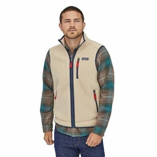 Patagonia Fleece-weste - M's Retro Pile Vest beige (el cap khaki) L
