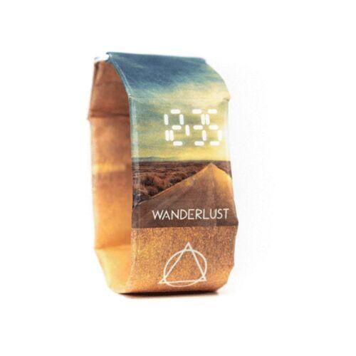 paprcuts Armband Uhr - Wanderlust
