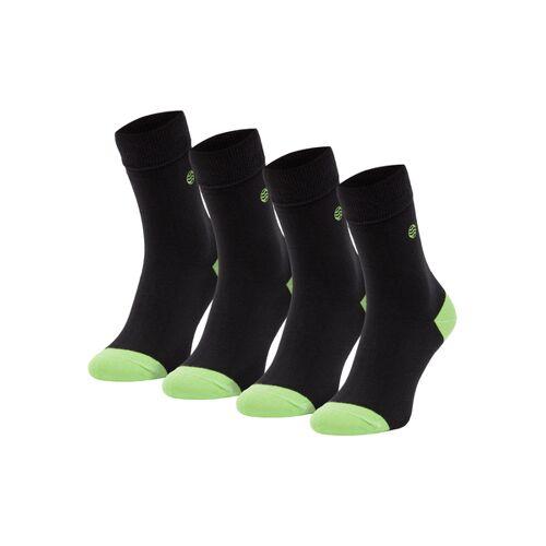 Natural Vibes 4 Paar Socken Bio Gots  Bunte Socken  Herren Damen Socken  41/46