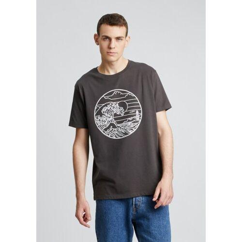 HAFENDIEB Waterkant T-shirt grau L
