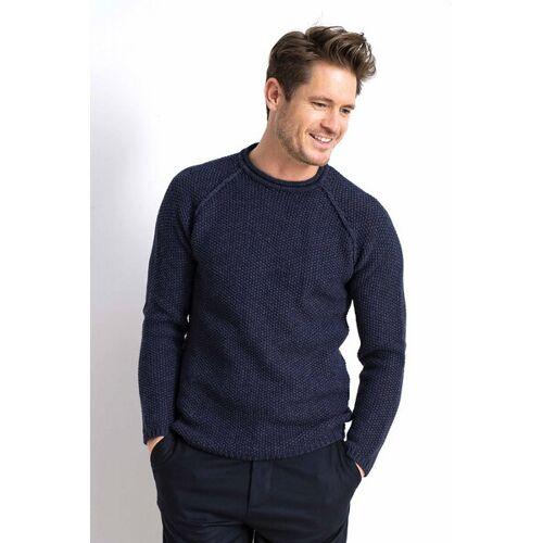 Loop.a life Goodmorning Sweater - Grobstrick safir S