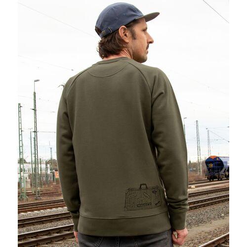 Cmig Reisekoffer Pulli Für Herren khaki (grün) XL