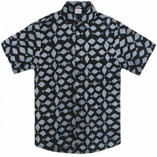 Global Mamas Bio Hemd - Slim Fit - Pathways Ethno/kakum/keepsake keepsake black (schwarz) XL