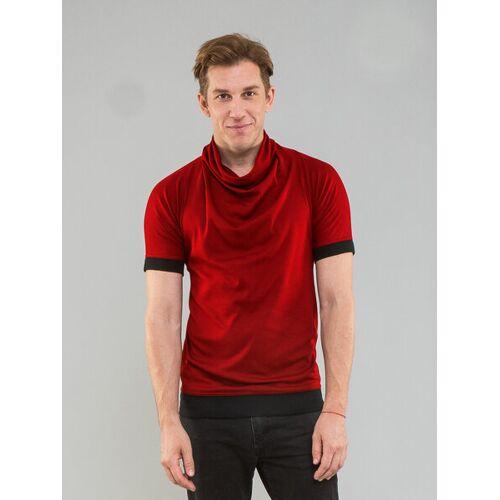 Kollateralschaden T-shirt Mit Rollkragen rot XL