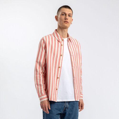 Rotholz Leichtes Hemd rot M