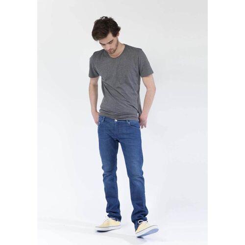 Mud Jeans Jeans Slim Fit - Lassen - Pure Blue blue 33/34