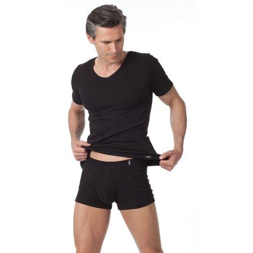 KUMPF Unterhemd-shirt, V-ausschnitt 051 Schwarz schwarz 8=xxl