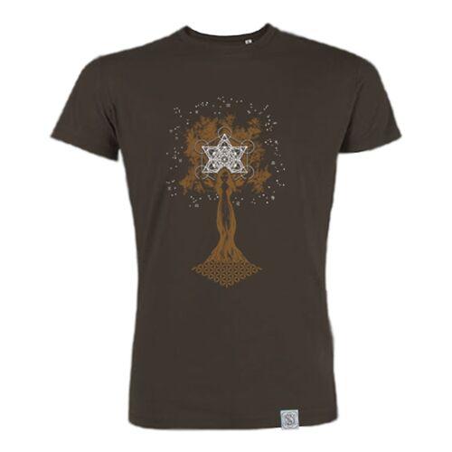 Sacred Designs Pachamama - Siebdruck T-shirt - Braun braun S