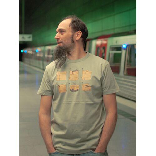 T-Shirtladen-Marktstrasse GmbH Umzugskarton Boy-t-shirt  XXL
