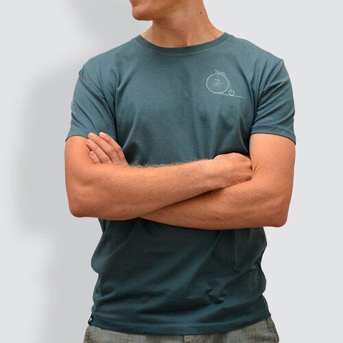 """little kiwi Herren T-shirt, """"Ab Und Weg"""", Stargazer stargazer XXL"""