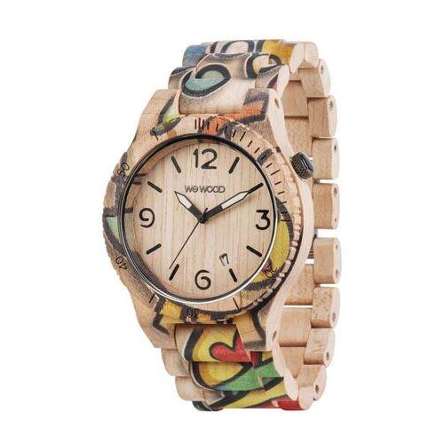 Wewood Holz-armbanduhr Alpha Woop Eyes   100% Hautverträglich