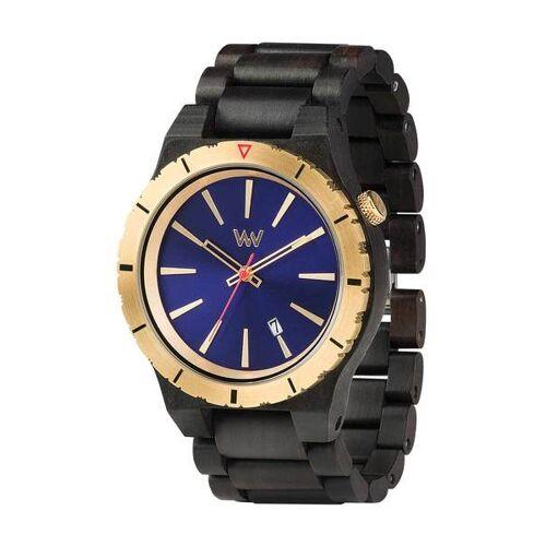 Wewood Holz-armbanduhr Assunt Mb Blue Gold   100% Hautverträglich blue