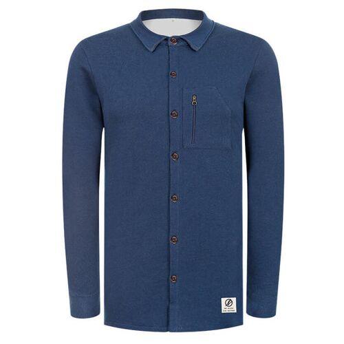 Bleed Denim Jersey Hemd Jeansblau jeansblau XL