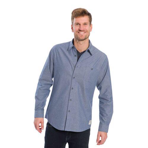 Bleed Swarms Hemd Jeansblau jeansblau S