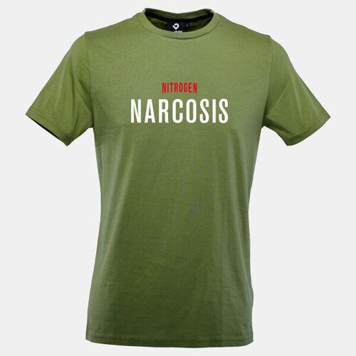Lexi&Bö Nitrogen Narcosis Herren T-shirt grün XS