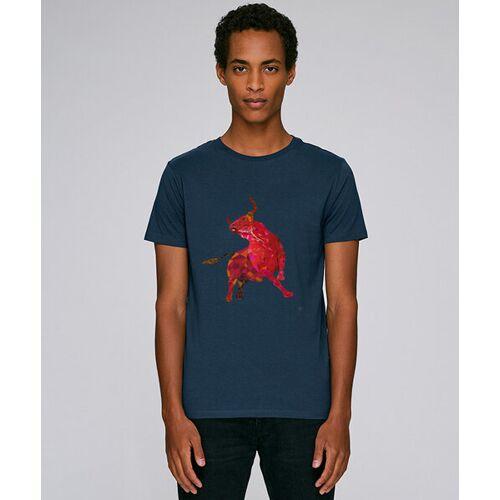 Kultgut T-shirt Mit Motiv / Redbull navy XS