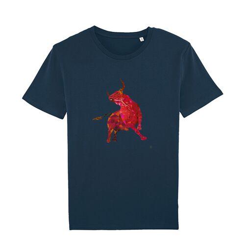 Kultgut T-shirt Mit Motiv / Redbull navy S