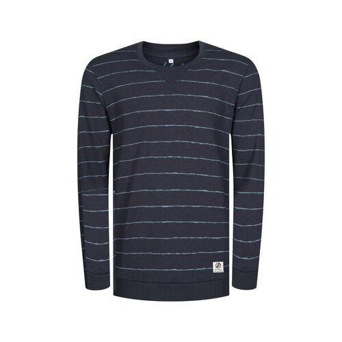 Bleed Striped Sweater Navy blau XL