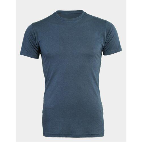 LANGER JUNG 2er Pack - Extralange Basic Shirts Slim Fit - Langer Jung denim blue L