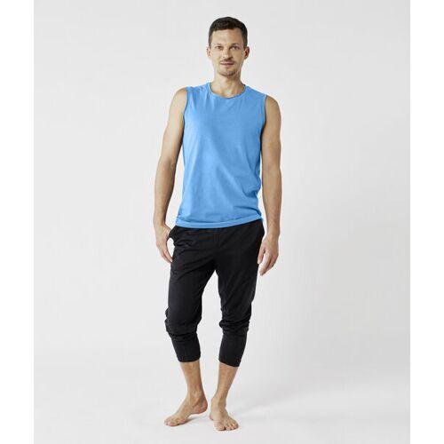 Lotuscrafts Organic Mens Yoga Tank Top blau S