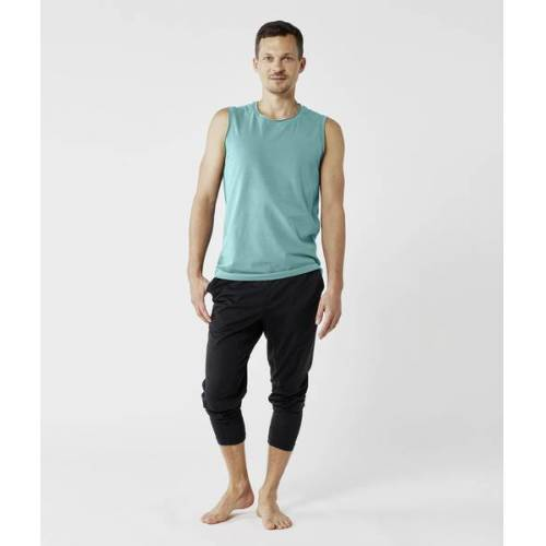 Lotuscrafts Organic Mens Yoga Tank Top grün M