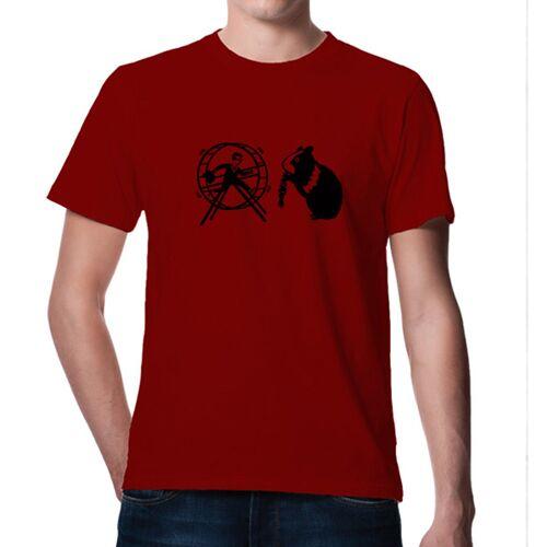 Picopoc T-shirt Hamster & Der Hamsterrad In Rot rot XL