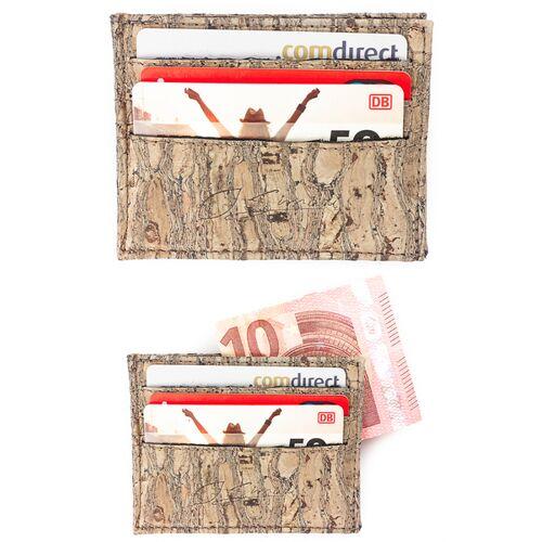 Simaru Karten Portemonnaie Aus Kork, Kreditkartenetui Für 12 Karten raizes