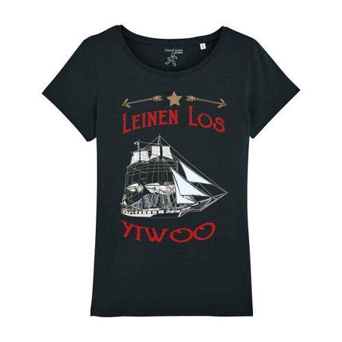 YTWOO Segelschiff Leinen Los schwarz S