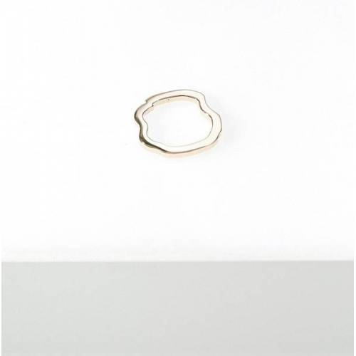 Goldmarlen Elara Ring - Glänzend gold L