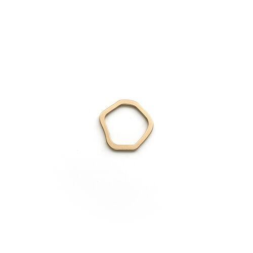 Goldmarlen Leda Ring - Matt gold S