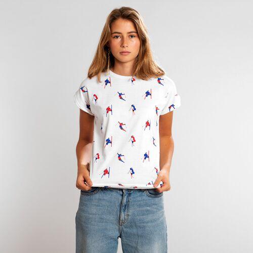 Dedicated T-shirt Visby Jump Pattern  S