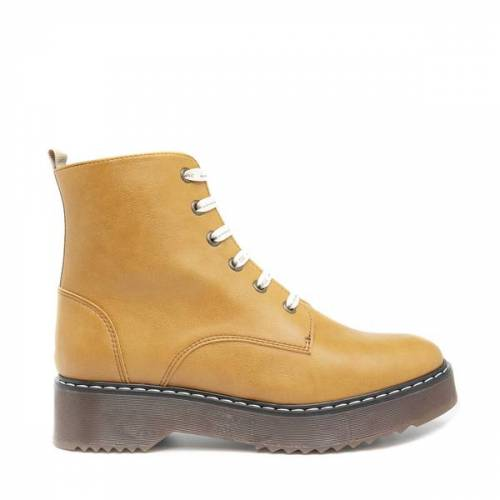 Nae Vegan Shoes Nae Trina - Vegane Damen- Stiefeletten gelb 40