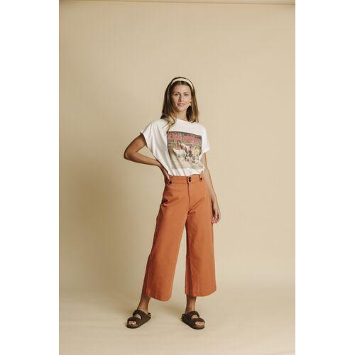thinking mu Hose Damen - Elephant orange (teracotta) M