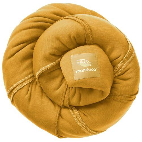 manduca Neu -Babytragetuch Manduca Sling Neue Farben 100 % Bio Baumwolle gold