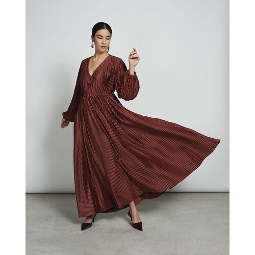JAN N JUNE Maxi Kleid Ellis In Framboise framboise S