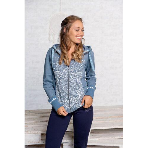 Spirit of OM Sweatjacke Von Spirit Of Om In 2 Farben jeans/ blau S