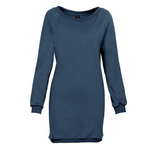 LASALINA Kleid Aus Bambus - Lasalina blau XS
