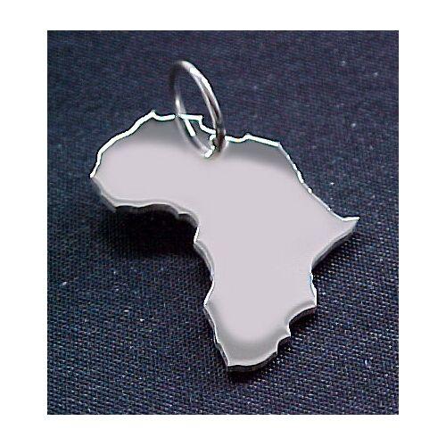 S.W.w. Schmuckwaren Afrika Kettenanhänger In 925 Silber silber