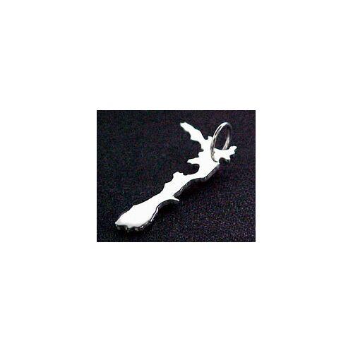 S.W.w. Schmuckwaren Neuseeland Kettenanhänger In 925 Silber silber