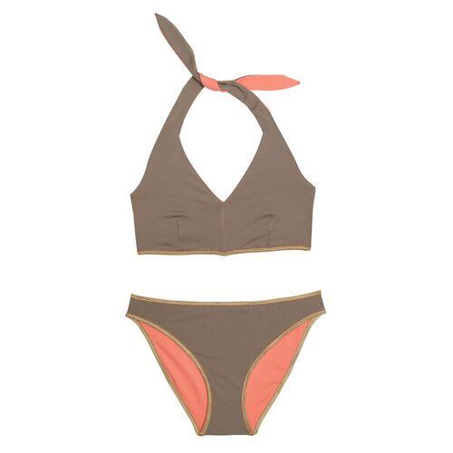 """MYMARINI Bikini Sosue Bikini Pants Shine orange (""""sand/peach"""") S"""