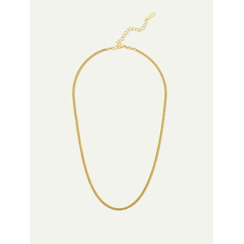 DEAR DARLING BERLIN Halskette Liz Gold / Silber   Filigrane Panzerkette gold