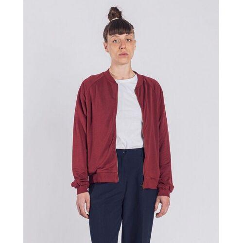 Degree Clothing Damen Bomberjacke Aus Bio-baumwolle - Becky - Dunkelrot dunkelrot XL