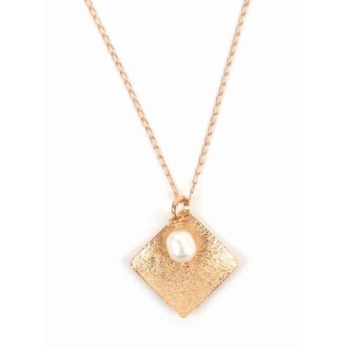 El Puente Halskette Golden Pearl pearl