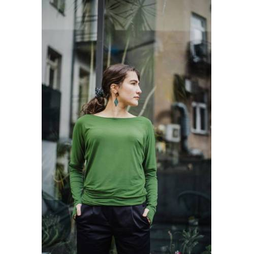KOKOworld Bluse Be My Valentine greenery (grün) l/xl