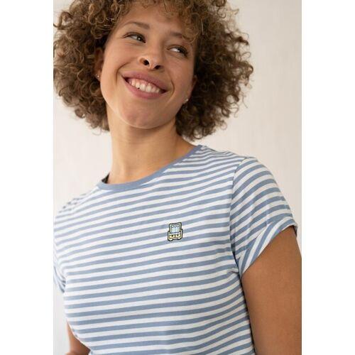 HAFENDIEB Strandkorb T-shirt blau XL