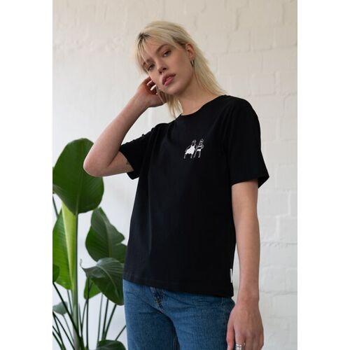 HAFENDIEB Sonnenbrand T-shirt schwarz M