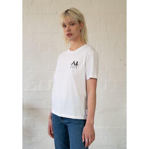 HAFENDIEB Sonnenbrand T-shirt weiss S